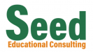 seed educational consulting logo white background